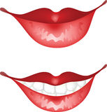 Lips Royalty Free Stock Photos