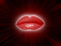 Lips background Stock Images