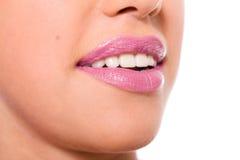 Lips close up Stock Photos