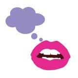 Lips color  Stock Photos