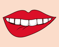 Lips design Royalty Free Stock Photography