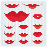 Lips design Royalty Free Stock Images
