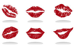 Lips of the girl Royalty Free Stock Photography