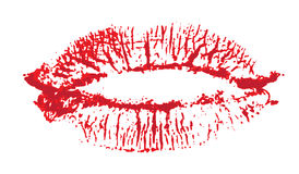 Lips, kiss colored Stock Images
