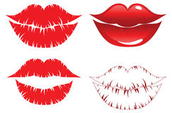 Lips kiss Royalty Free Stock Photo