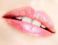 Lips makeup Royalty Free Stock Image