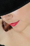 Lips Pretty Girl Stock Images