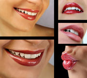 Lips set Stock Image