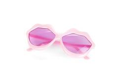 Lips shaped glasses Stock Photo