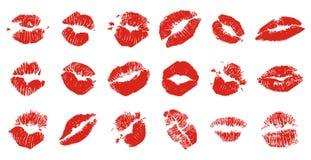 Lips + vector file Stock Photo