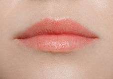Lips woman close up Stock Photos
