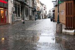 Lipscani街道视图 库存图片