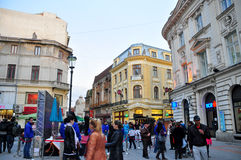 Bucharest Old Town Royalty Free Stock Photo
