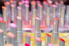 lipstic的颜色 免版税图库摄影