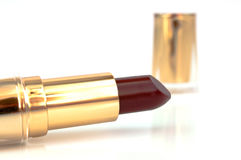 Lipstick. On a white background Stock Photography