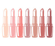 Lipstick. The image of lipstick. A vector illustration Stock Image