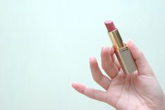 Lipstick. With space for text Stock Photos