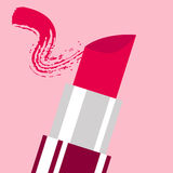 Lipstick background Stock Photo
