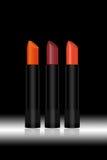 Lipstick on black background Royalty Free Stock Image