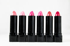 Lipstick in Black Container Stock Photography