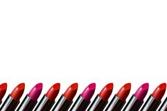 Lipstick Border Royalty Free Stock Image