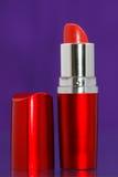 Lipstick and cap Stock Photos
