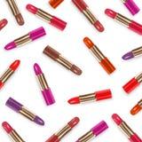 Lipstick color set Royalty Free Stock Photo