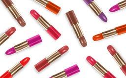 Lipstick color set Stock Photo