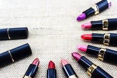 Lipstick colors Stock Photos