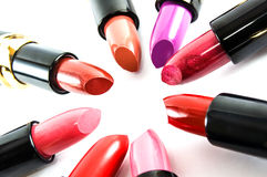 Lipstick colors Stock Images