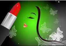 Lipstick and fashion Royalty Free Stock Image