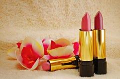 Lipstick gift set Royalty Free Stock Image