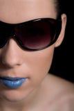 Lipstick girl Stock Photos