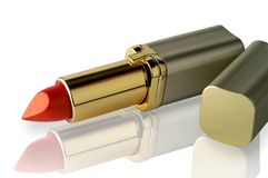 Lipstick horizontal clipping path Stock Photos