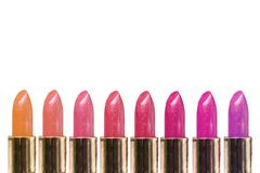 Lipstick line Stock Photography