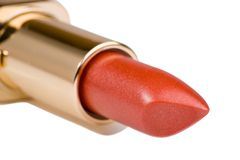 Lipstick luxury Stock Photography
