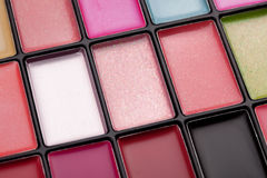 Lipstick palette Royalty Free Stock Image