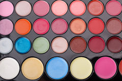 Lipstick palette Royalty Free Stock Images