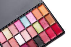 Lipstick palette Royalty Free Stock Image