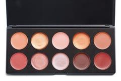 Lipstick palette Royalty Free Stock Photos