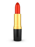 Lipstick Red. 3D rendered beautiful red lipstick Royalty Free Stock Photo