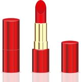 Lipstick red Stock Image