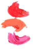 Lipstick samples Stock Image