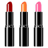 Lipstick set Royalty Free Stock Photos