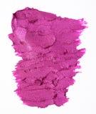 Lipstick smudge Stock Photography