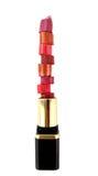 Lipstick stack Stock Photo