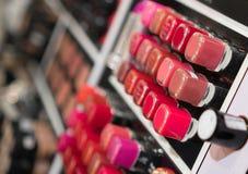 Lipstick testers. Stock Photos