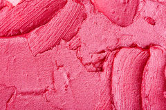 Lipstick texture Stock Photography