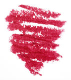 Lipstick trace Royalty Free Stock Images