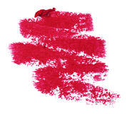 Lipstick trace Stock Images